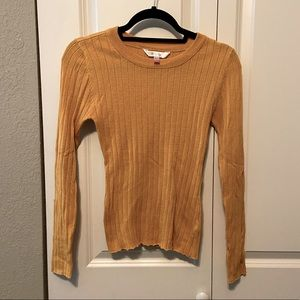 Soft pull over sweater.